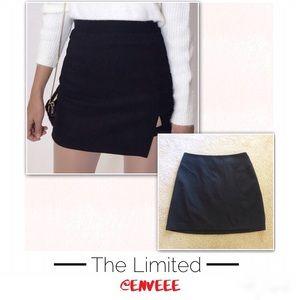 The Limited Black Skirt w Side Slit